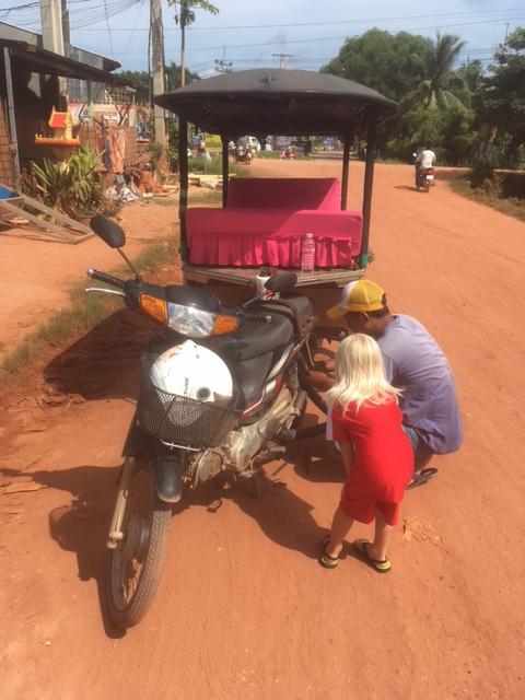 Tuktuk-Panne